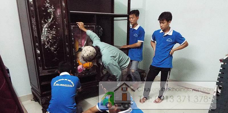 Tháo ráp tủ quần áo ở Tp.Hồ Chí Minh