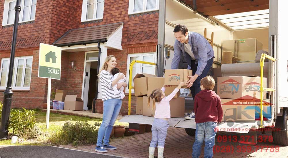 Dịch vụ chuyển nhà trọn gói uy tín Quận 1