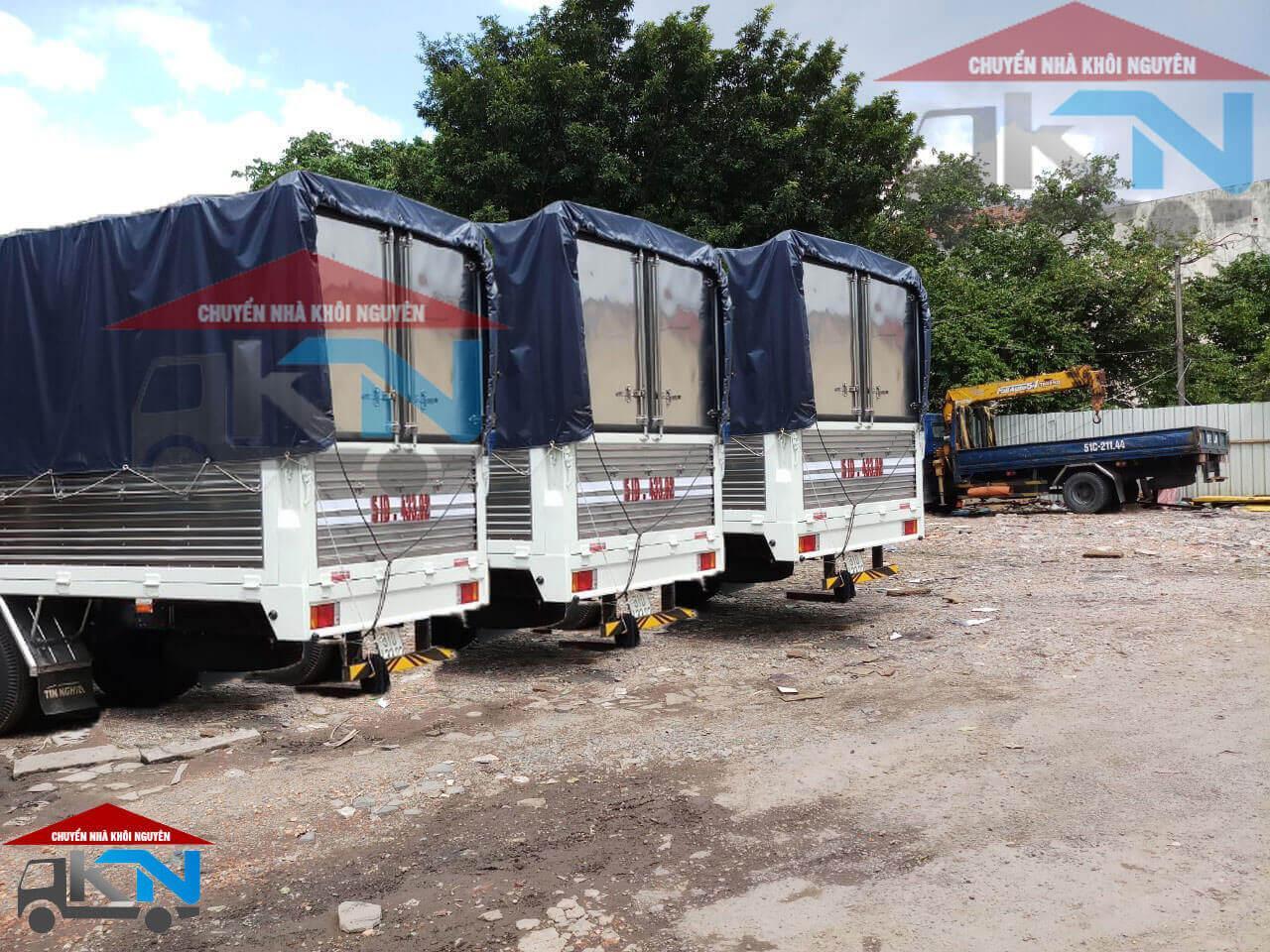 Dịch vụ cho thuê xe tải, vận chuyển hàng hóa