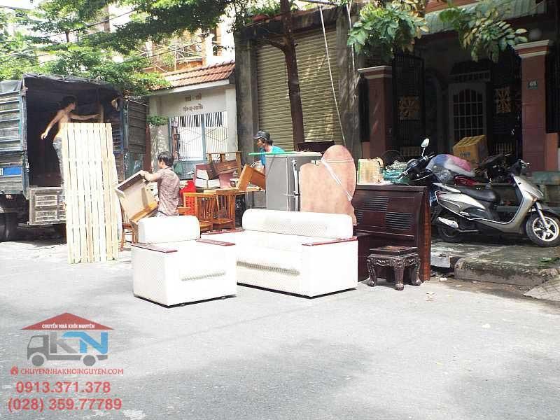 Dịch vụ chuyển nhà trọn gói uy tín tại Hồ Chí Minh