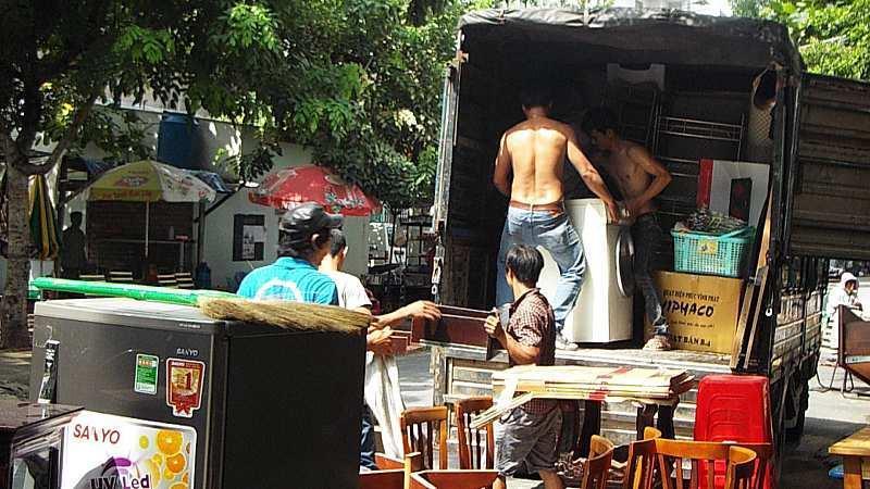 Taxi tải chuyển nhà Bình Thuận - TP.Hồ Chí Minh