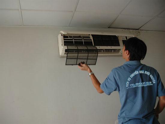 Tháo lắp máy lạnh nhanh chóng nhất tại Sài Gòn