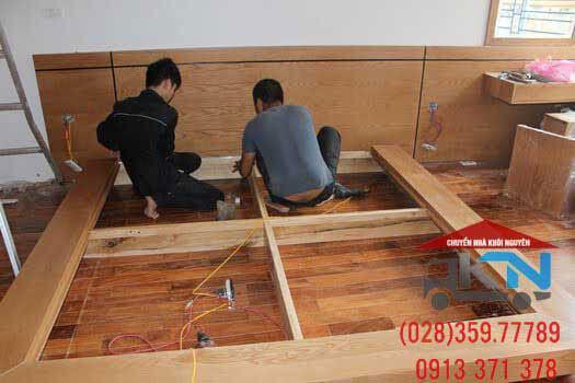 Dịch vụ tháo lắp giường tủ Long An