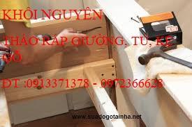 Tháo lắp tủ gỗ giá rẻ TP.Hồ Chí Minh