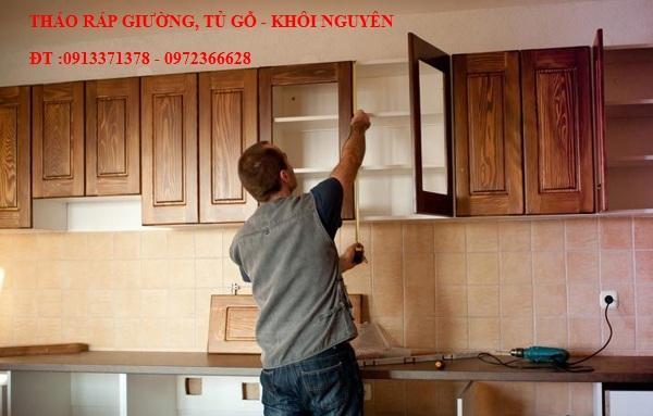 Dịch vụ tháo ráp tủ gỗ rẻ nhất TP.Hồ Chí Minh