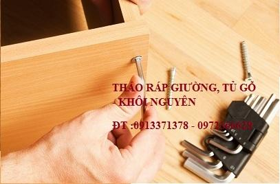 Tháo lắp tủ gỗ rẻ nhất TP.Hồ Chí Minh