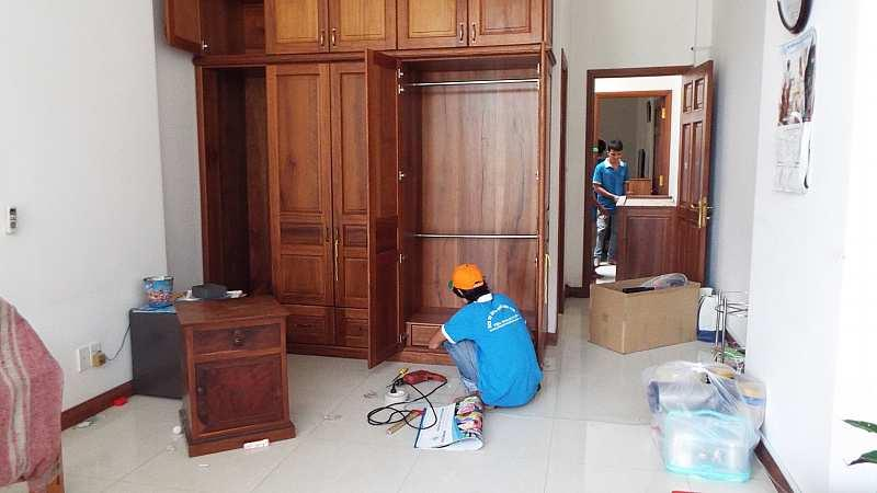 Dịch vụ tháo lắp di dời giường tủ TP.Hồ Chí Minh