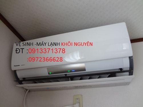 Vệ sinh máy lạnh dàn KHÔI NGUYÊN