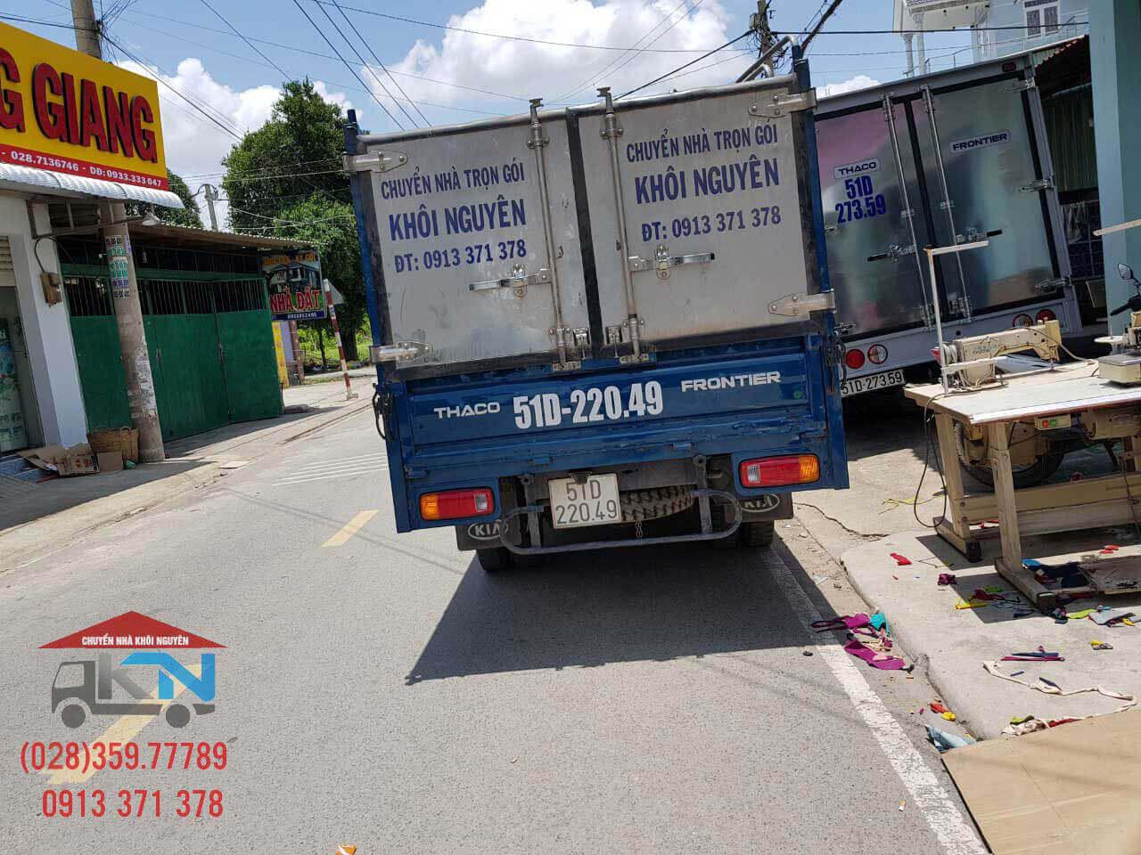 Dịch vụ taxi tải, cho thuê xe tải chở hàng giá rẻ