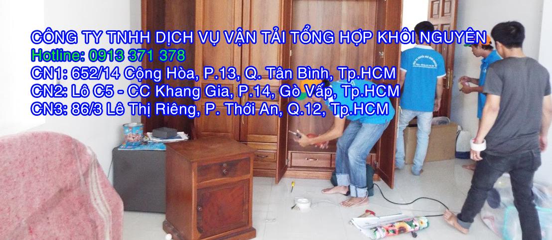 dịch vụ chuyển nhà trọn gói Bình Định