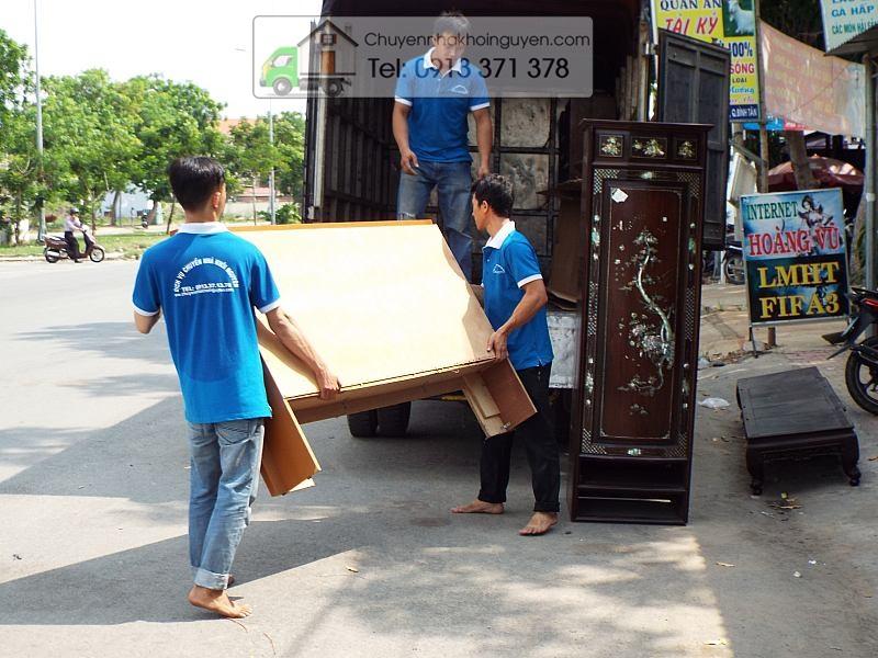 dịch vụ chuyển nhà trọn gói Bình Dương