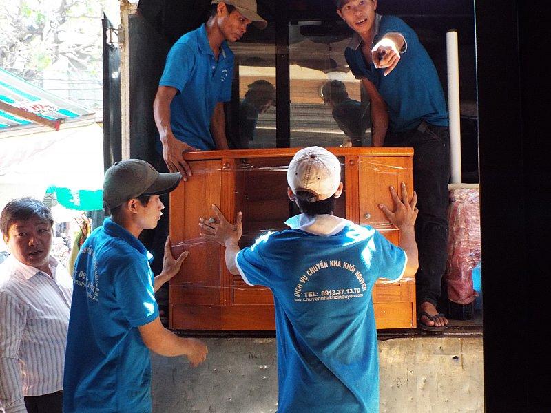 Dịch vụ chuyển nhà tổng hợp Bình Chánh