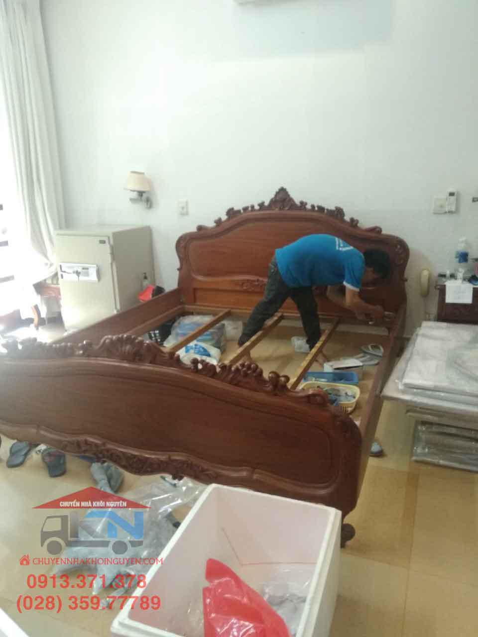 Dịch vụ tháo lắp giường tủ giá rẻ Quận 2