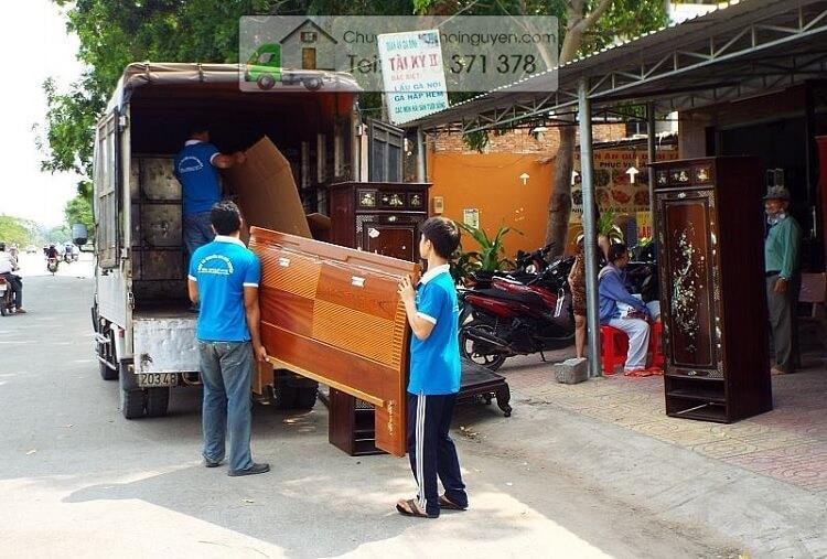 Dịch vụ chuyển nhà trọn gói Bình Thạnh