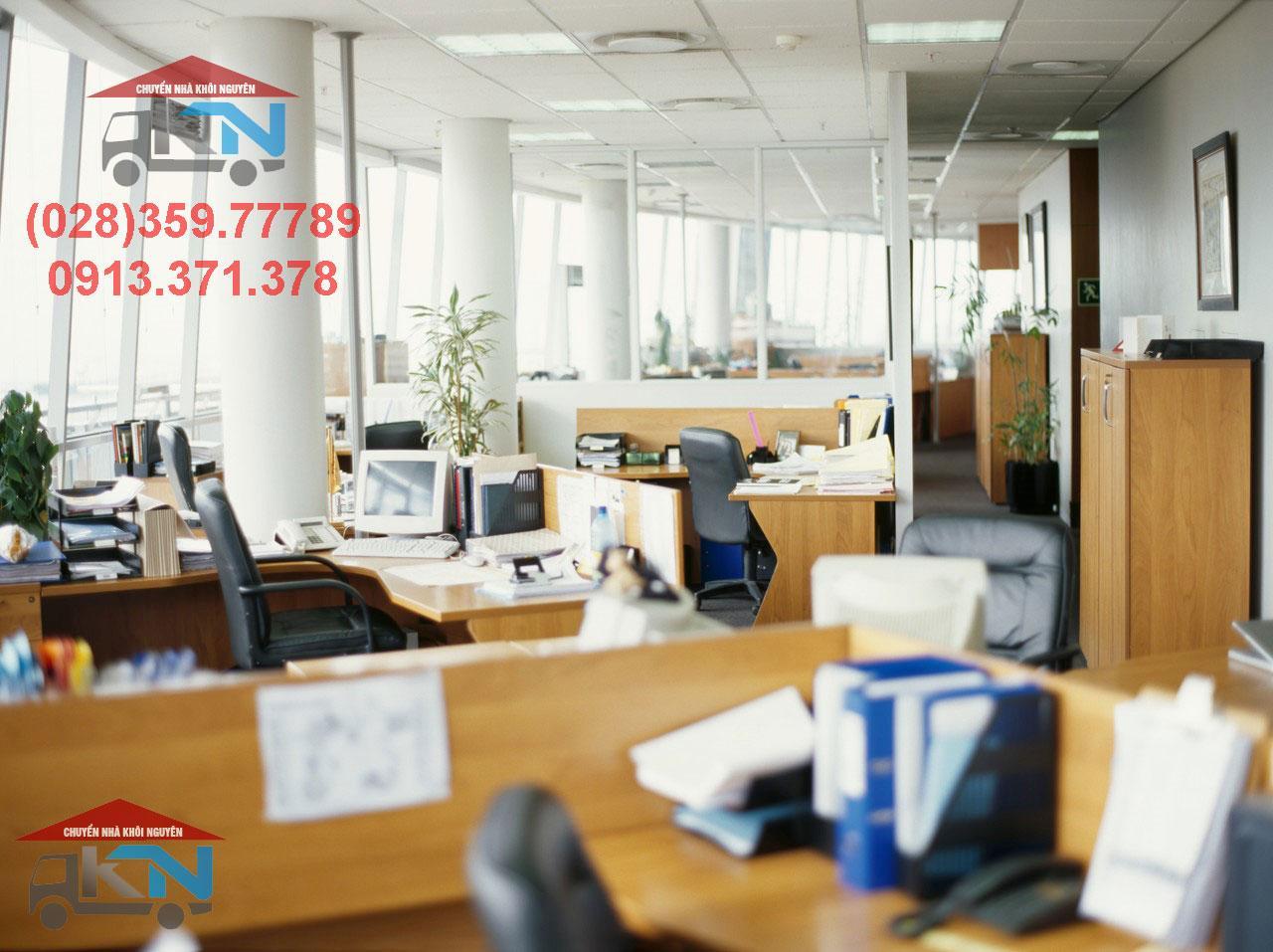 Dịch vụ chuyển văn phòng trọn gói giá rẻ quận 2