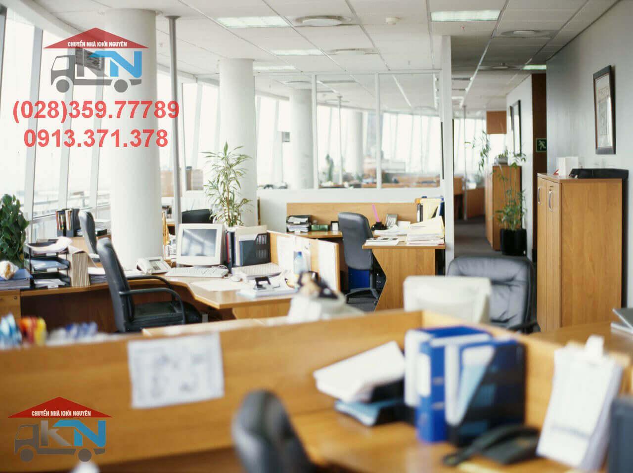 Dịch vụ chuyển văn phòng trọn gói Quận 12 giá rẻ