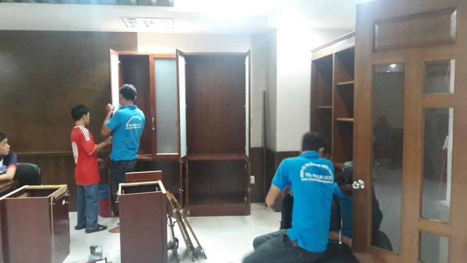 Dịch vụ tháo ráp tủ gỗ TP.Hồ Chí Minh
