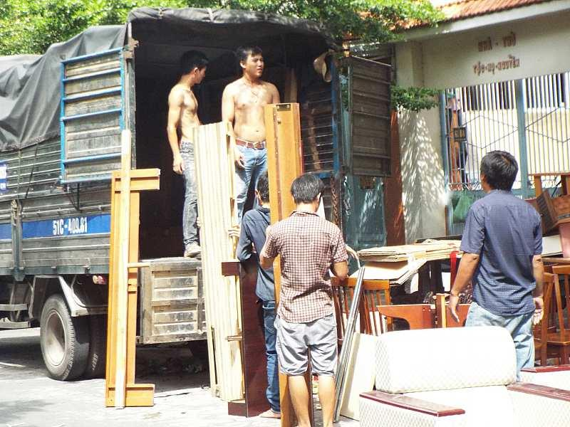 Dịch vụ Taxi tải chở hàng trọn gói