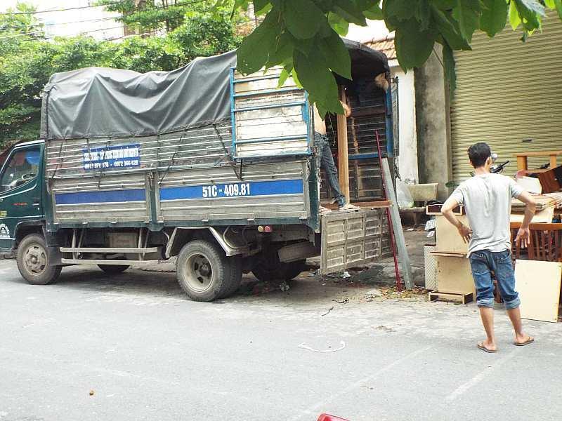 Taxi tải chuyển nhà Long An - TP.Hồ Chí Minh