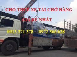 Cho thuê xe tải chở hàng rẻ nhất quận 8