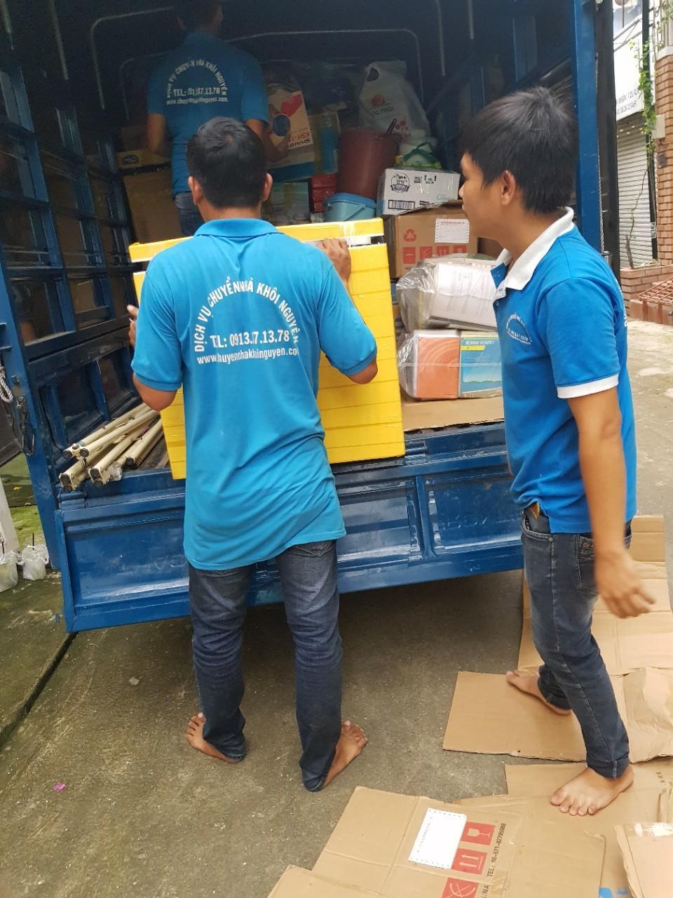 Chuyển nhà rẻ trọn gói huyện Bình Chánh