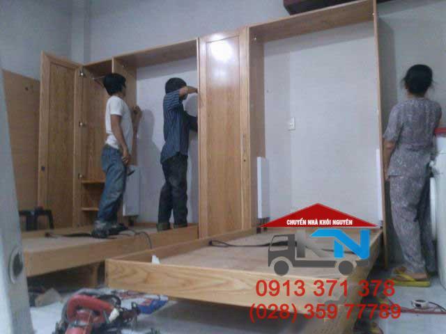 Tháo lắp giường tủ tại nhà